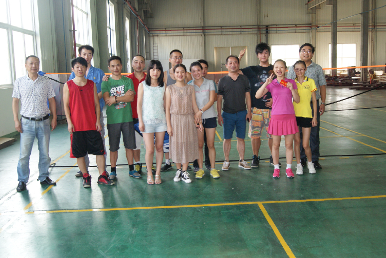 Our Company's Badminton Match
